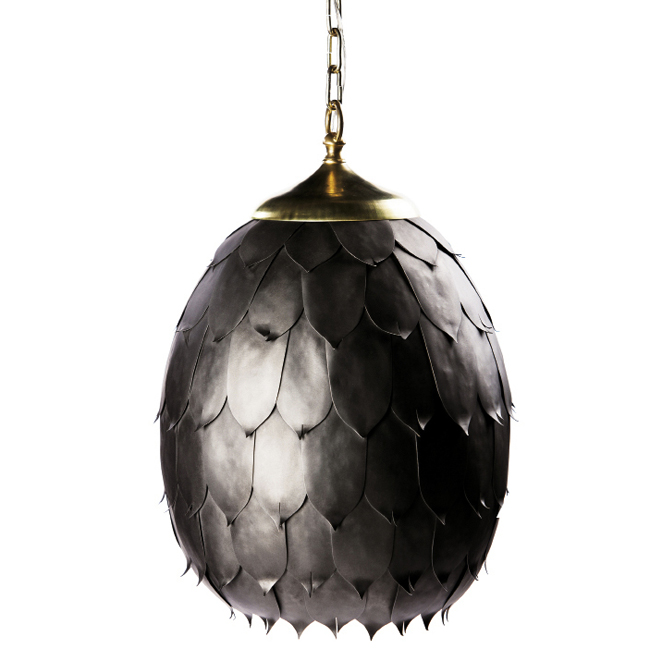 Magnolia Pod pendant For this hanging light a collaboration with Washington D.C.-based designer Barry Dixon the Avrett team hand-hammered 110 leaves from ...  sc 1 st  Charleston Magazine & Charleston SC | The Makers | Charleston Magazine azcodes.com