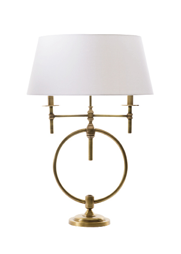 """Anello"" lamp, $398, at Amen Domestics"