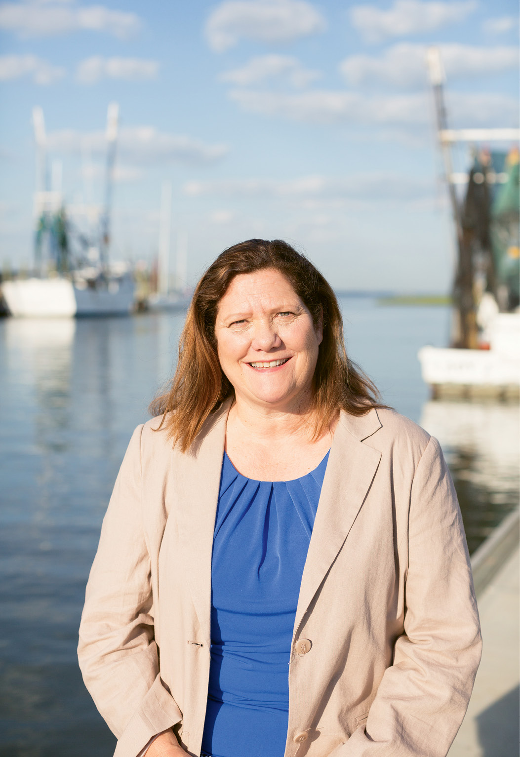 "Mount Pleasant Mayor Linda Page; in April, Town Council created a new Shem Creek Task Force to ""preserve and promote"" the creek."