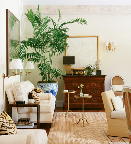 An interior by designer Mark D. Sikes