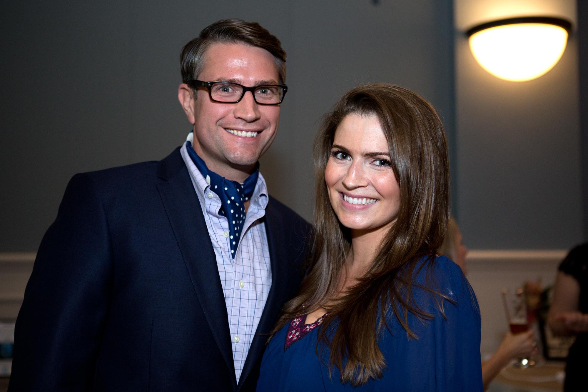 Heath Johnson and Lelia Burress