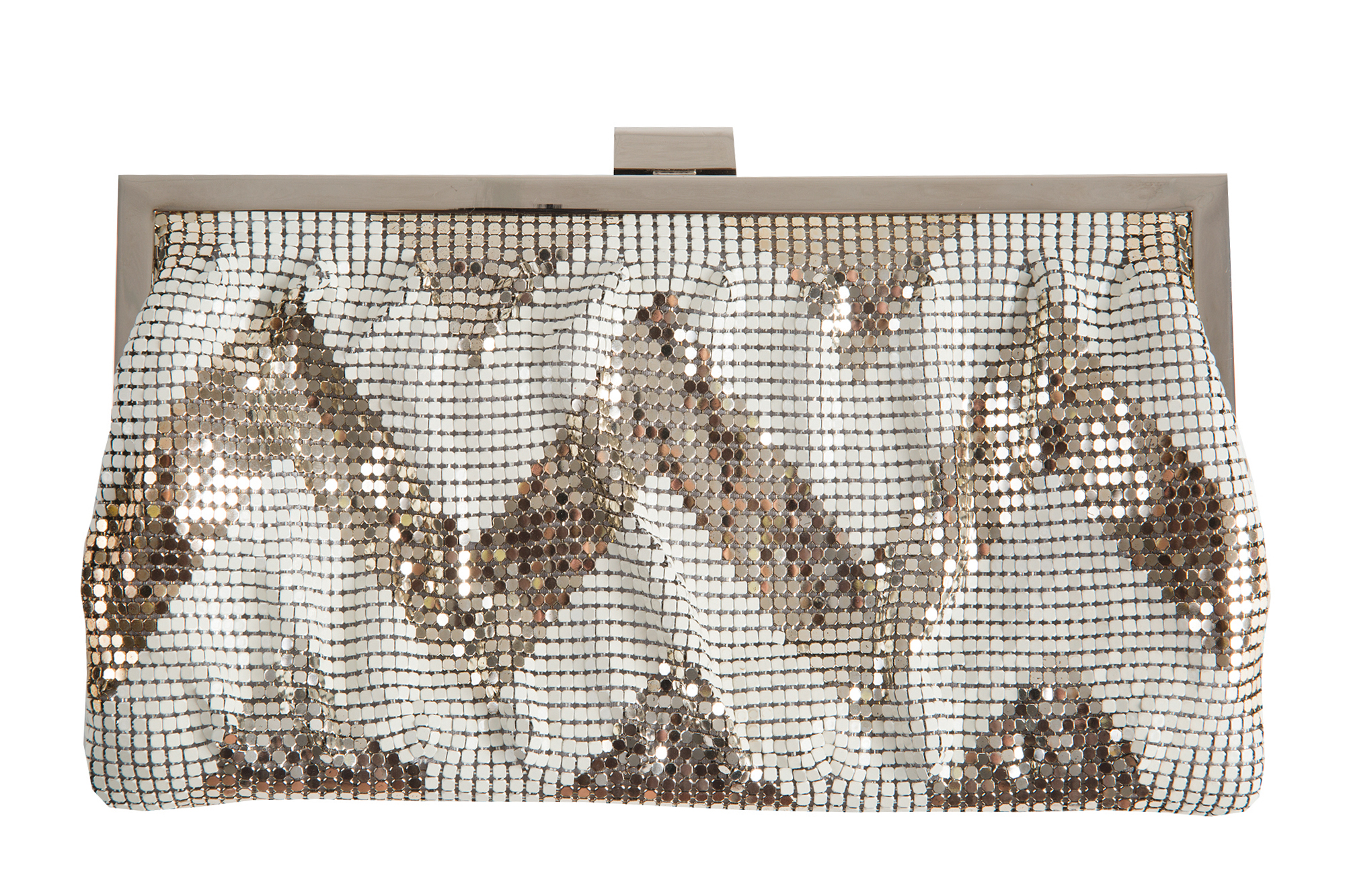 "Whiting & Davis ""Zig Zag Clutch,"" $158 from Gwynn's of Mount Pleasant"