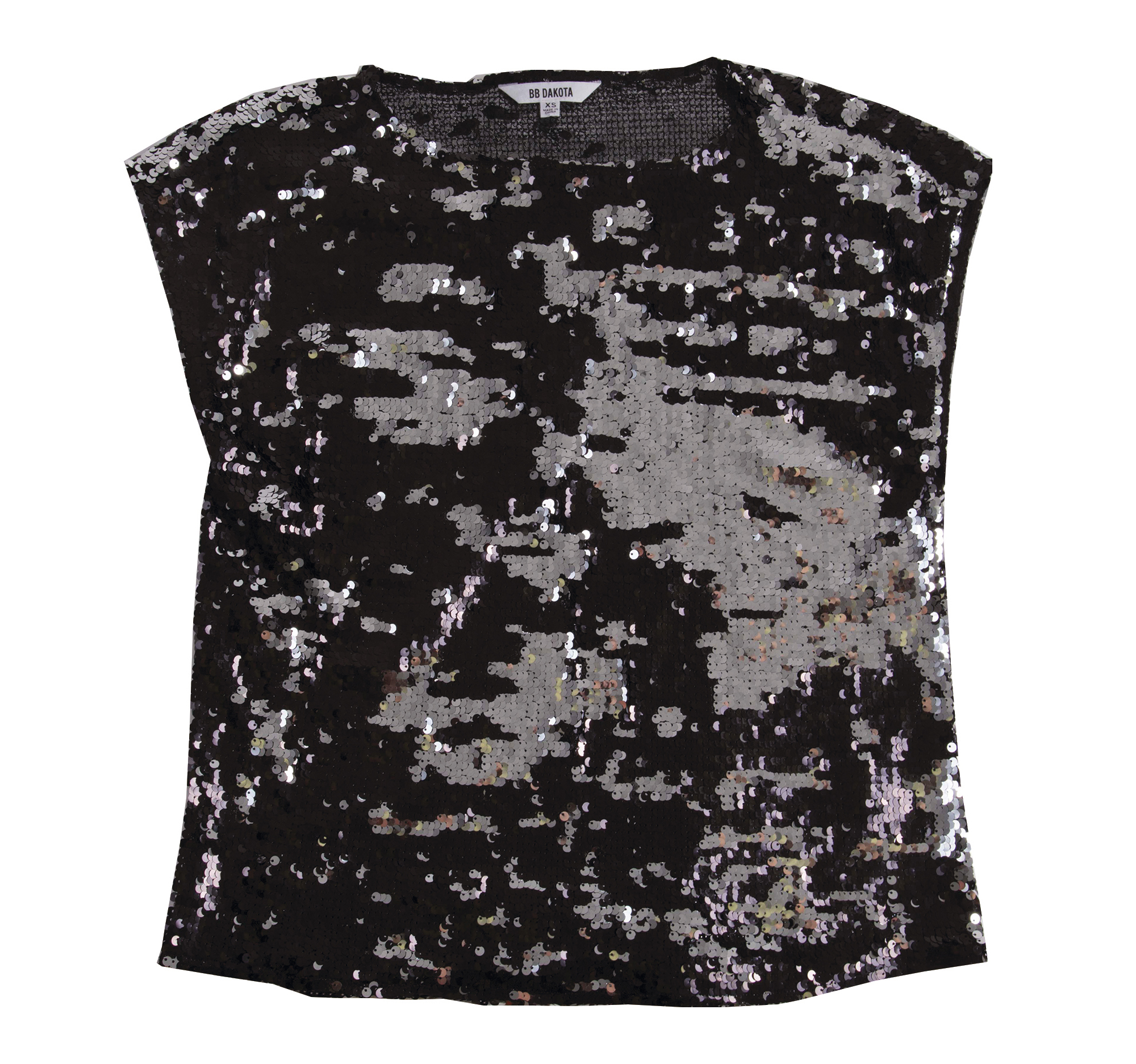 "BB Dakota ""BBD Sequin Top,"" $78 at Copper Penny"