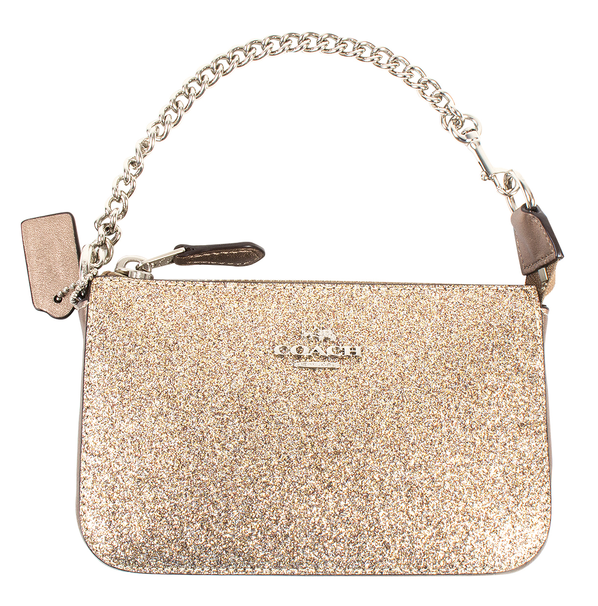 "Coach ""Glitter Nolita Wristlet,"" $85 at Belk of Mount Pleasant"