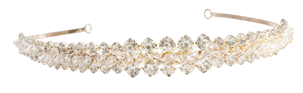 Crystal and rhinestone headband, $102 at Out of Hand