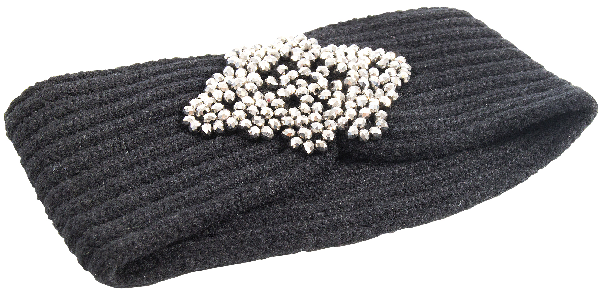 "Betsey Johnson ""Black Story Headband,"" $28 at Belk of Mount Pleasant"