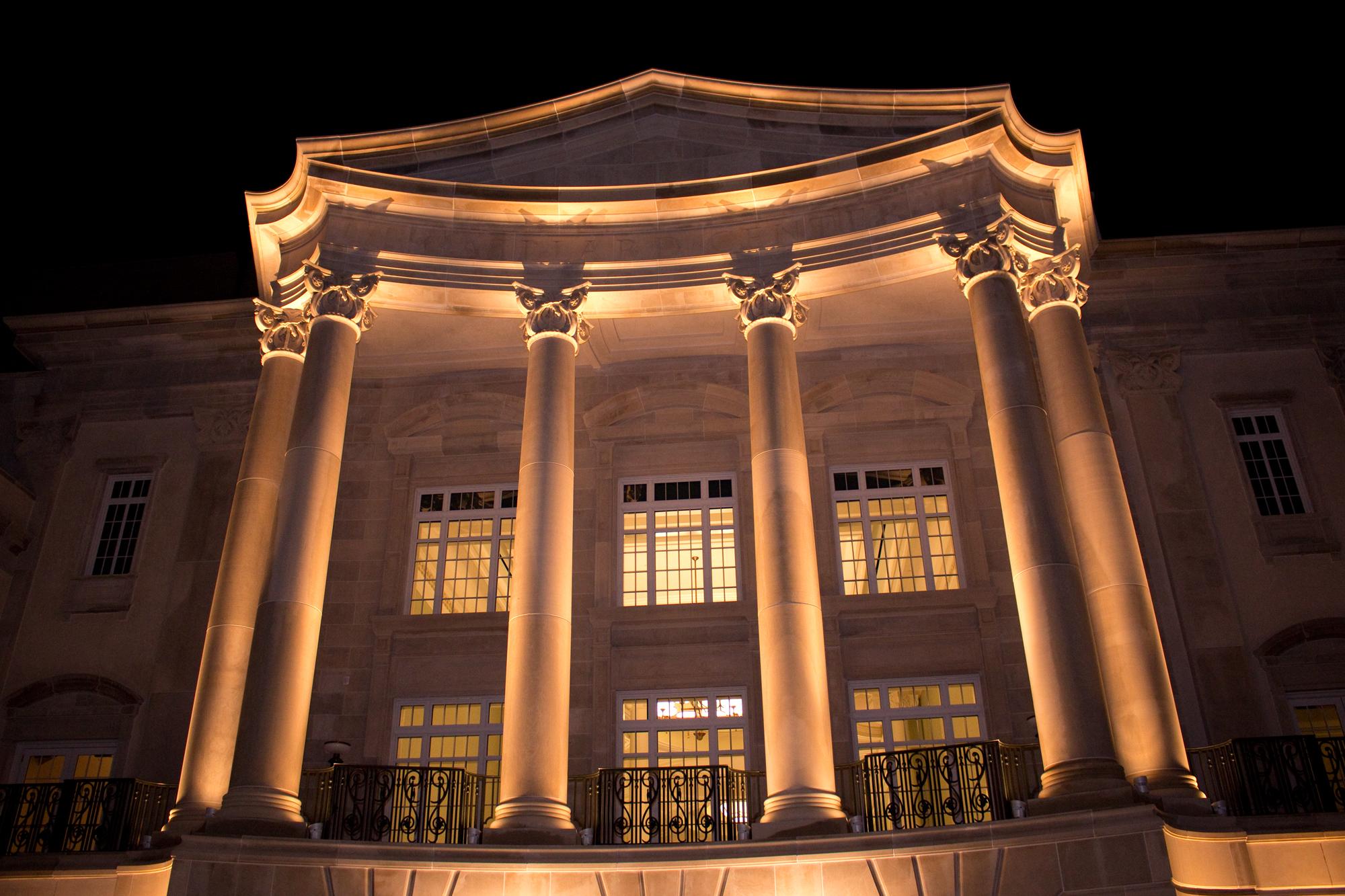 The Gaillard by night