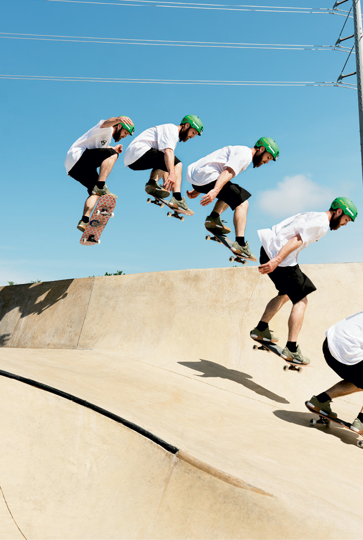 """Larry Upchurch """"ollie to bank"""""""