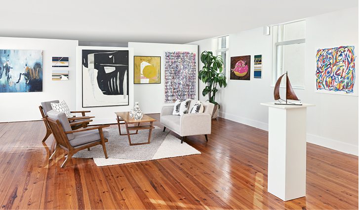Miller Gallery (149 ½ East Bay St.)