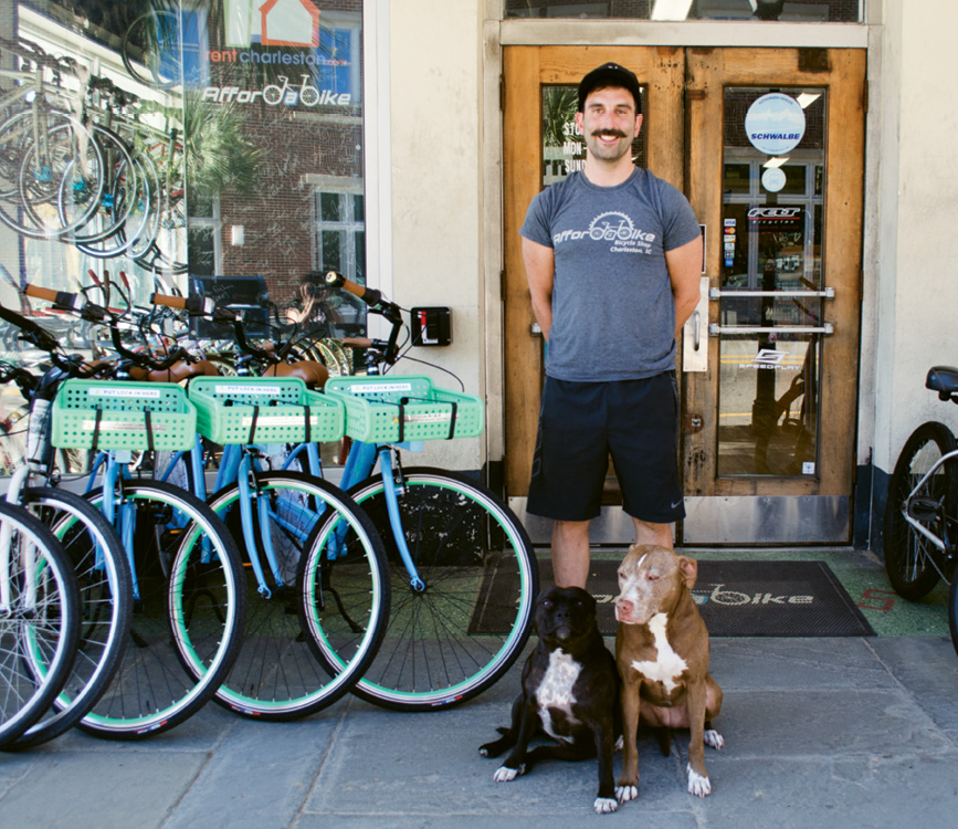 Daniel Russell-Einhorn opened Affordabike on King in 2009.