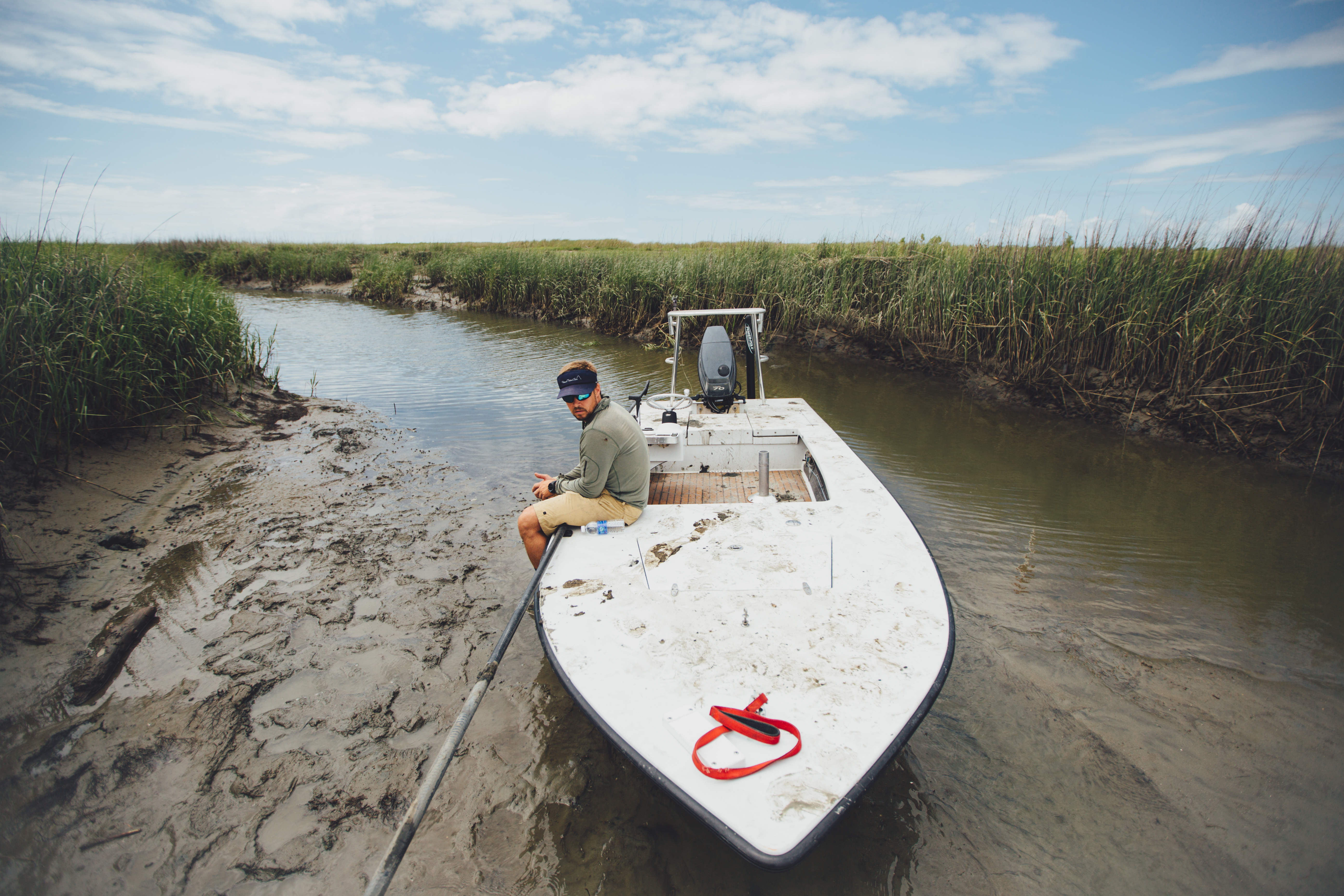 "FINALIST Professional category: Lowcountry Lowtide by  Jeremy Clark; ""Caught in a small lowcountry creek by the low tide. We may have missed a Friday staff meeting due to this snafu... Taken just north of Isle of Palms on May 29, 2015."""