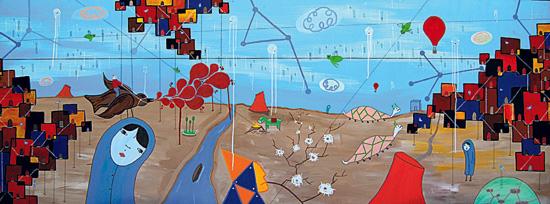 "CHM Aug 2010 Artist Profile: Brian Bustos ""Manifestation of the Imprisoned Spirit"""