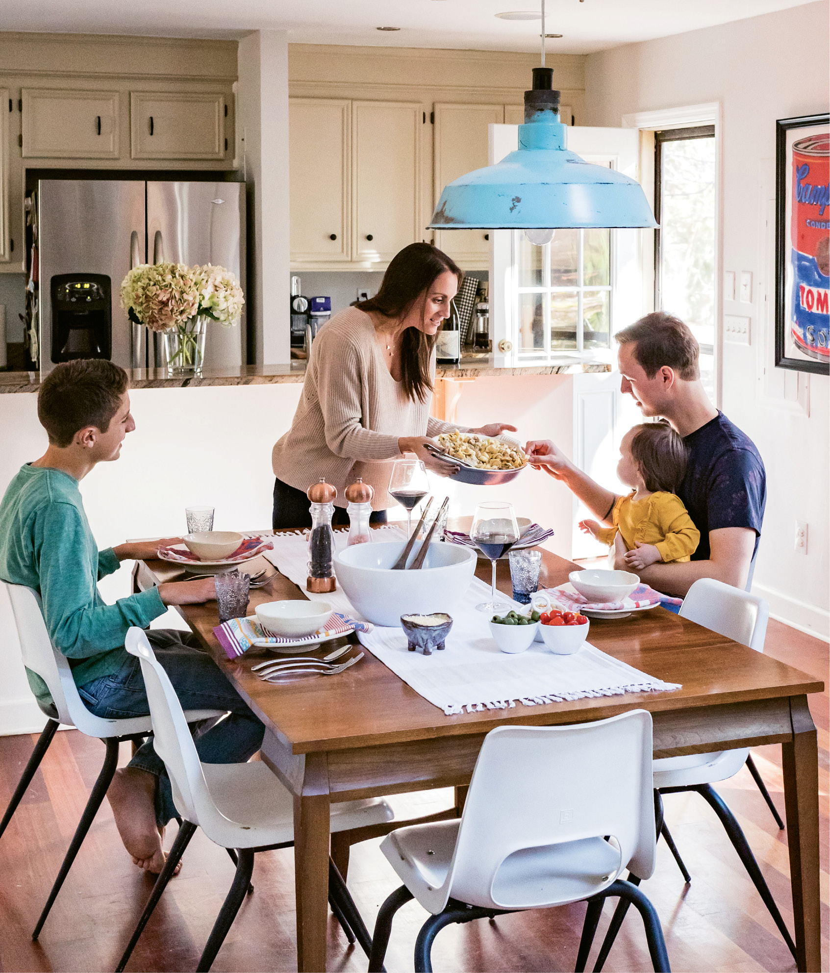 """""""I want to be sure my kids are open to experiencing new flavors when we travel, and that means making sure there's diversity in what we eat at home."""" —Gillian Zettler"""