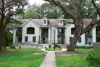 The GrandOak community for seniors under preserved oaks in West Ashley