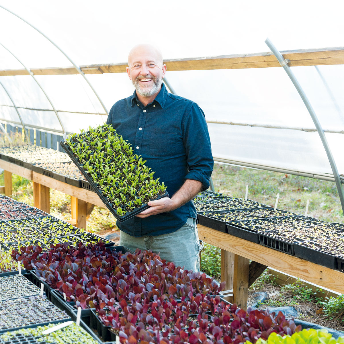 """""""It's not the norm to go into farming at age 52, but eventually, I see this as a career change."""""""