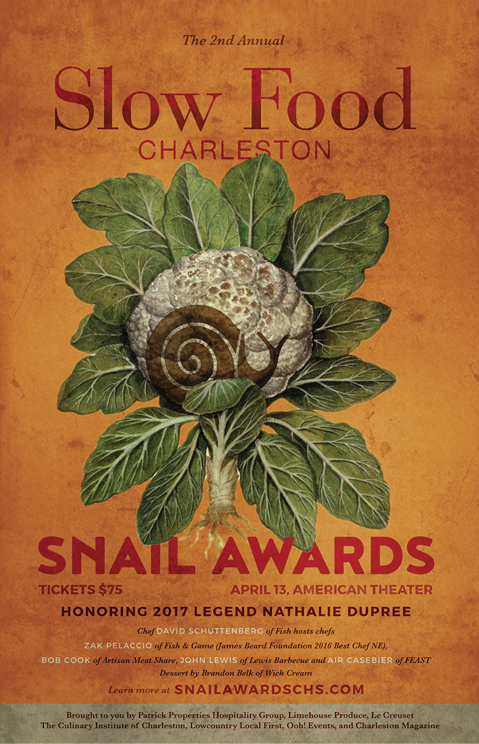 The 2017 Snail Awards poster