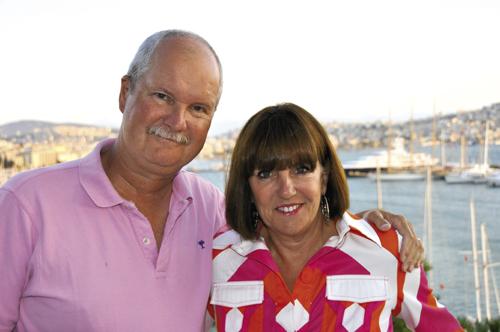 Millard with Jay, her husband of 31 years