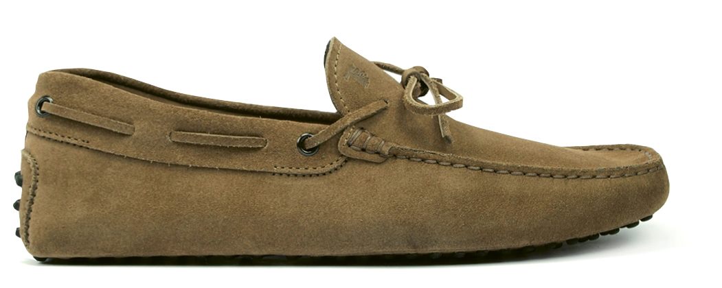 "Ackerman's favorite suede ""Gommino Driving Shoes"" by Tod's"
