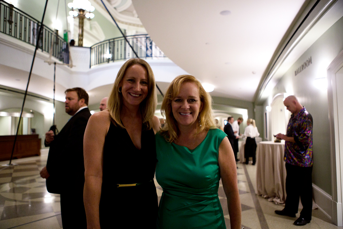 Charleston magazine editor-in-chief Darcy Shankland and art director Melinda Smith Monk