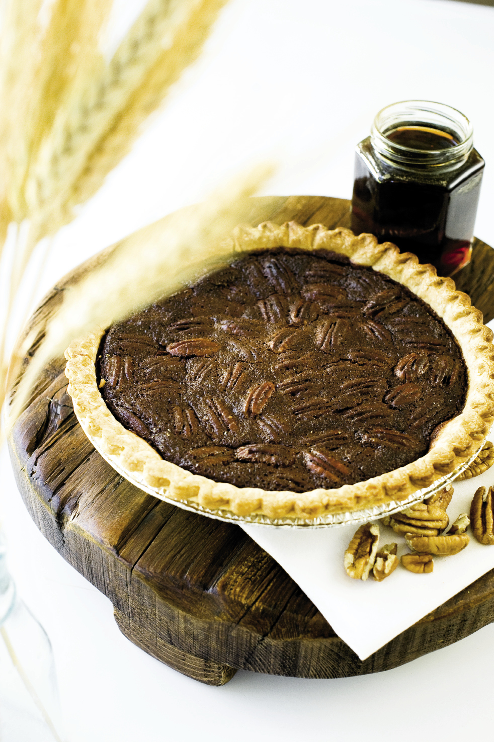 Cane Syrup Pecan Pie Recipe — Dishmaps