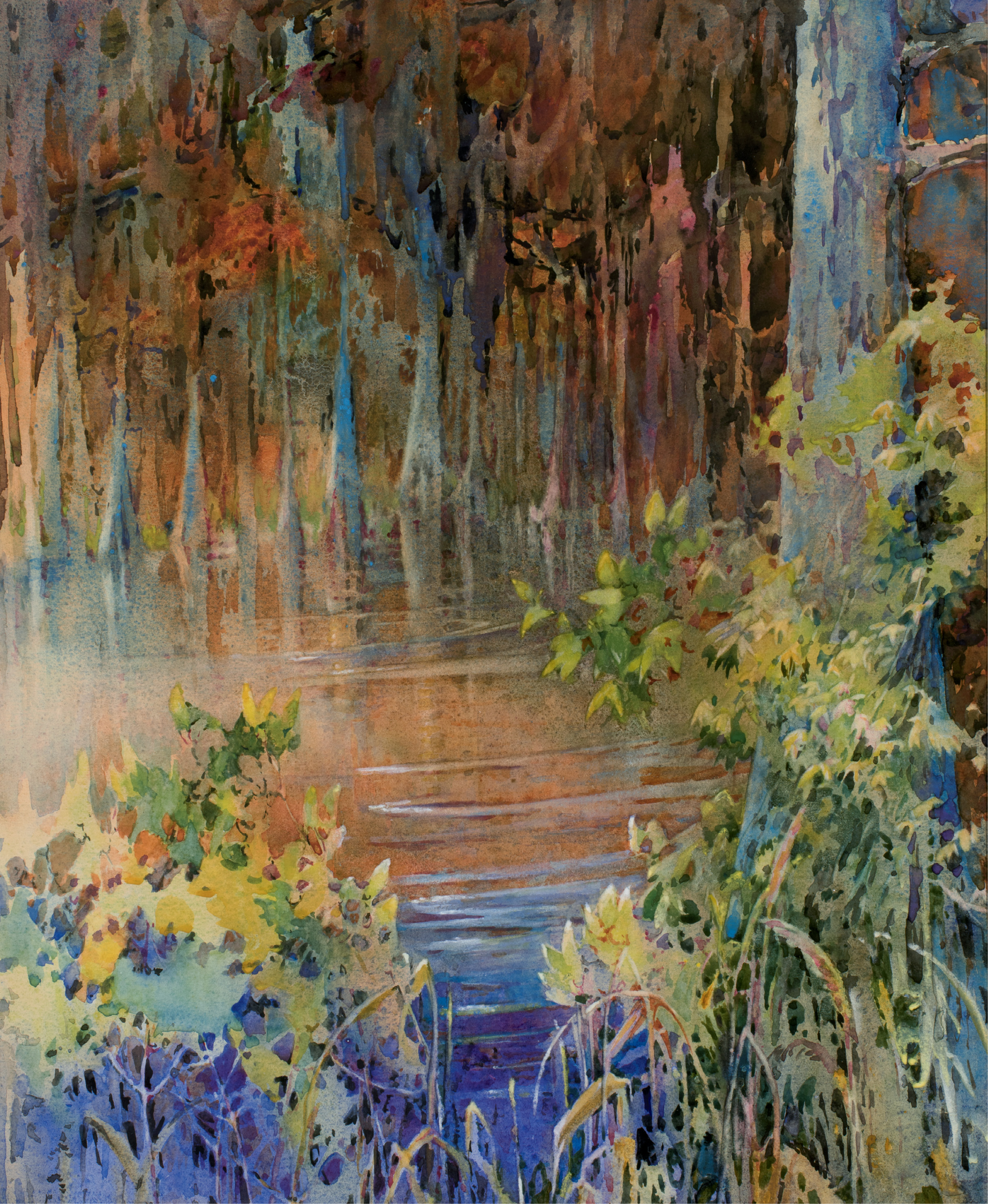 Lord of the Edisto (watercolor, 1930, courtesy of the Estate of Peter Manigault)