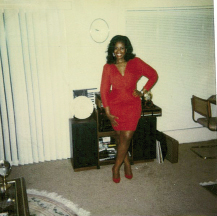 Anice on her birthday in August 1975