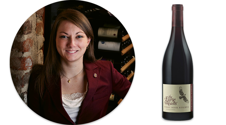 Cappie Peete Chapman: Eyrie Vineyards Pinot Noir Reserve, 1980