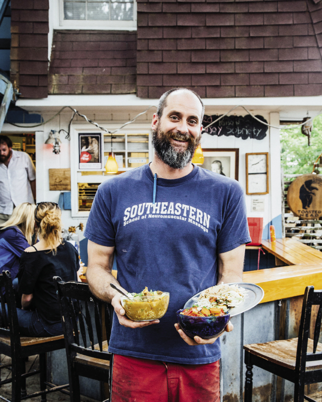 Hank Weed and partner Cat Forester opened this easy-going, Caribbean-inspired gathering place, where you can find tacos and curry bowls aplenty; beer, wine, and sangria; and live music most weekends.