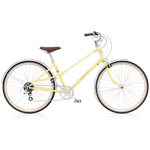 The chef rides an old mountain bike, but dreams of this Electra Ticino 7D. $709, Mike's Bikes