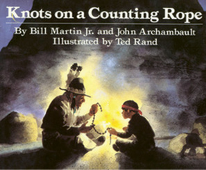 "Bedtime Story: ""One of Bitty and Beau's favorite children's books is Knots on a Counting Rope."""