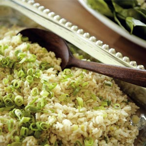 Garlic-Green Onion Rice Pilaf | Charleston SC - Charleston Magazine