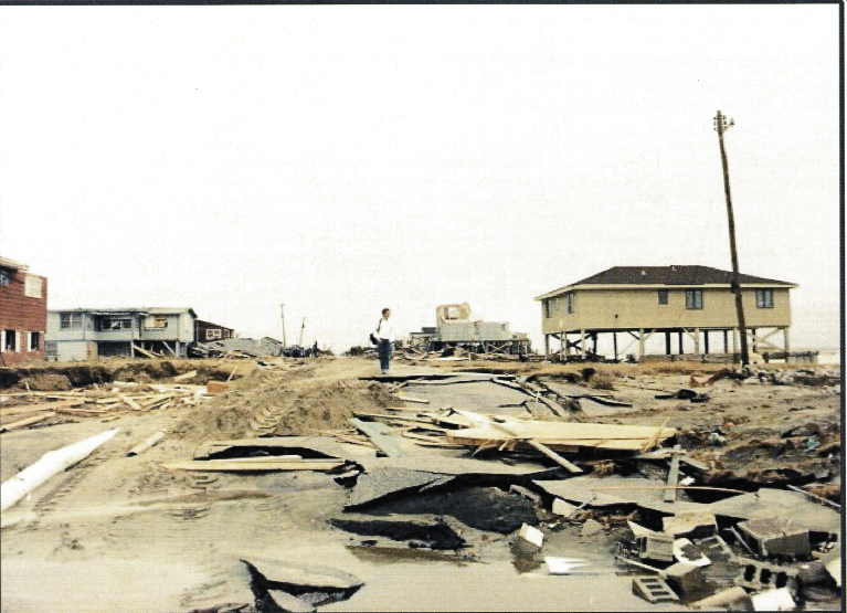 Folly Beach was already facing erosion issues when Hugo hit. The Washout lived up to its name.