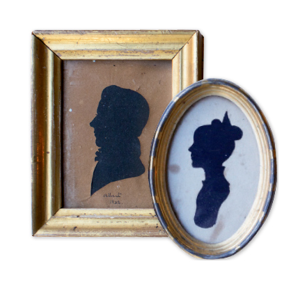 wn to their personal nature, Fanny collects mini portraits. Charleston Antiques, $50 and up