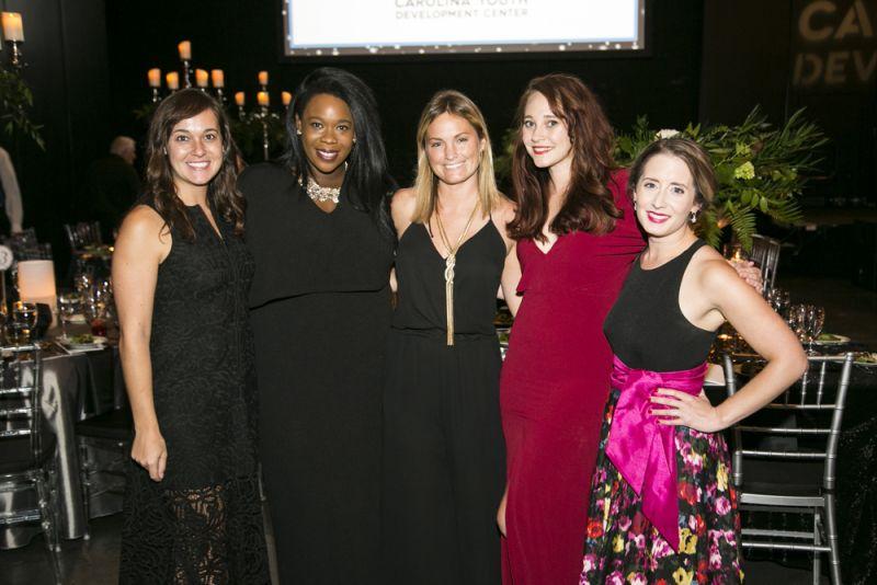 Caroline Rion, Tope Leyimu, Katie Waites, Annie Kouba, and Laura Stemkowski