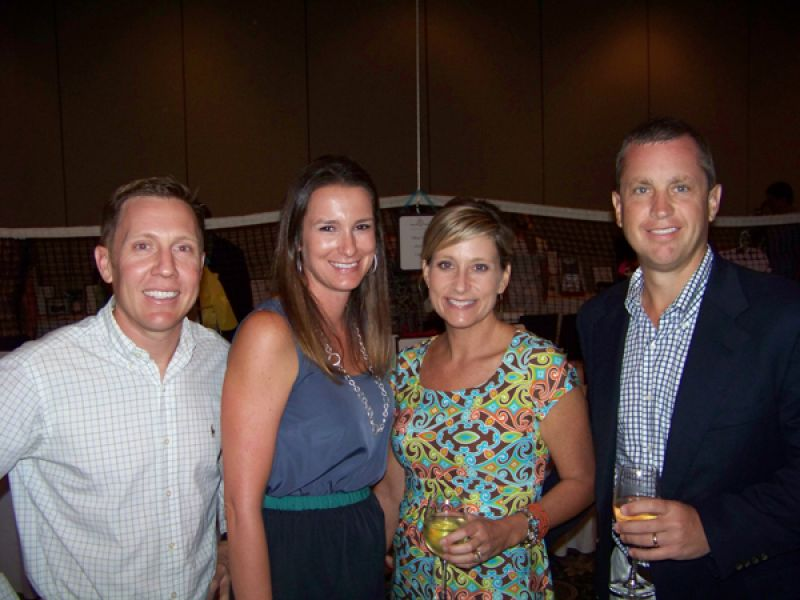 Giles Branch, Carrie Branch, Kerrie Scott and Sean Scott