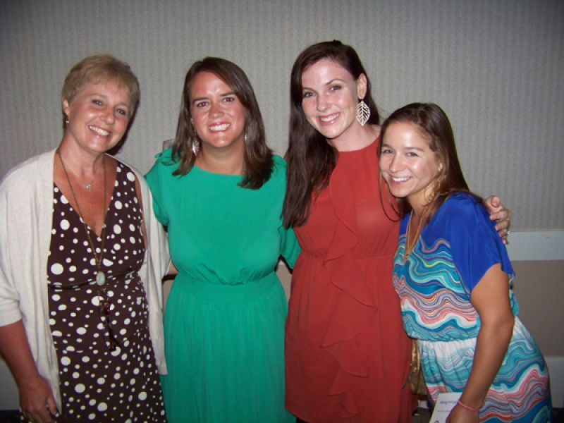 Debbie Edwards, Martha Bratton, Elisabeth Poole and Laura Beacham