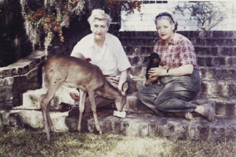 With Ella Severin, her companion from 1951 til Belle's death in 1964