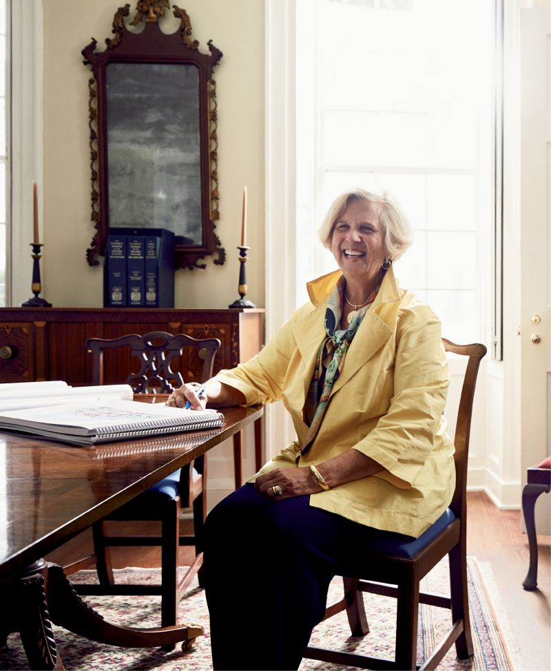 """""""I don't want the city to lose its character, to be overrun by too many cruise ships, hotels, and visitors. I want Charleston to keep its standards high."""" —Kitty Robinson"""