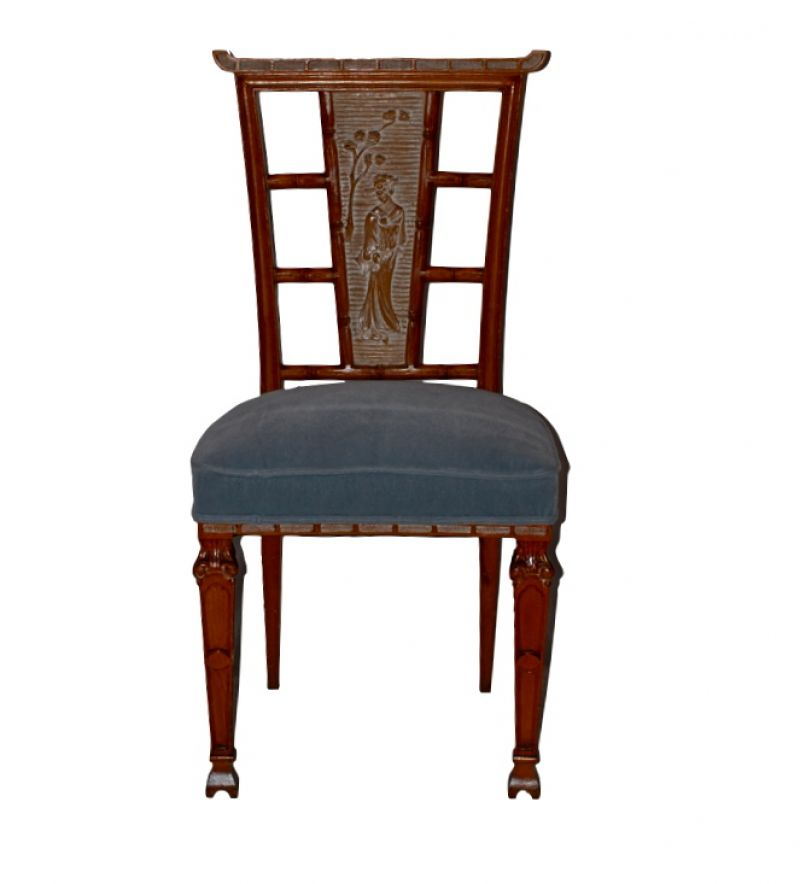 1940s French Pagoda Chairs (set of 4).001.jpg