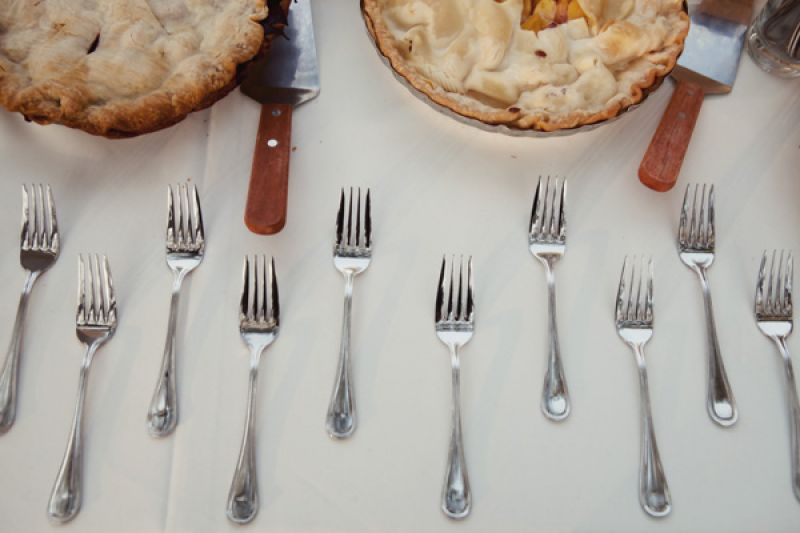 PIECE OF THE PIE: Twenty Six Divine whipped up peach and mixed berry pies adding to the sweet list of confections.