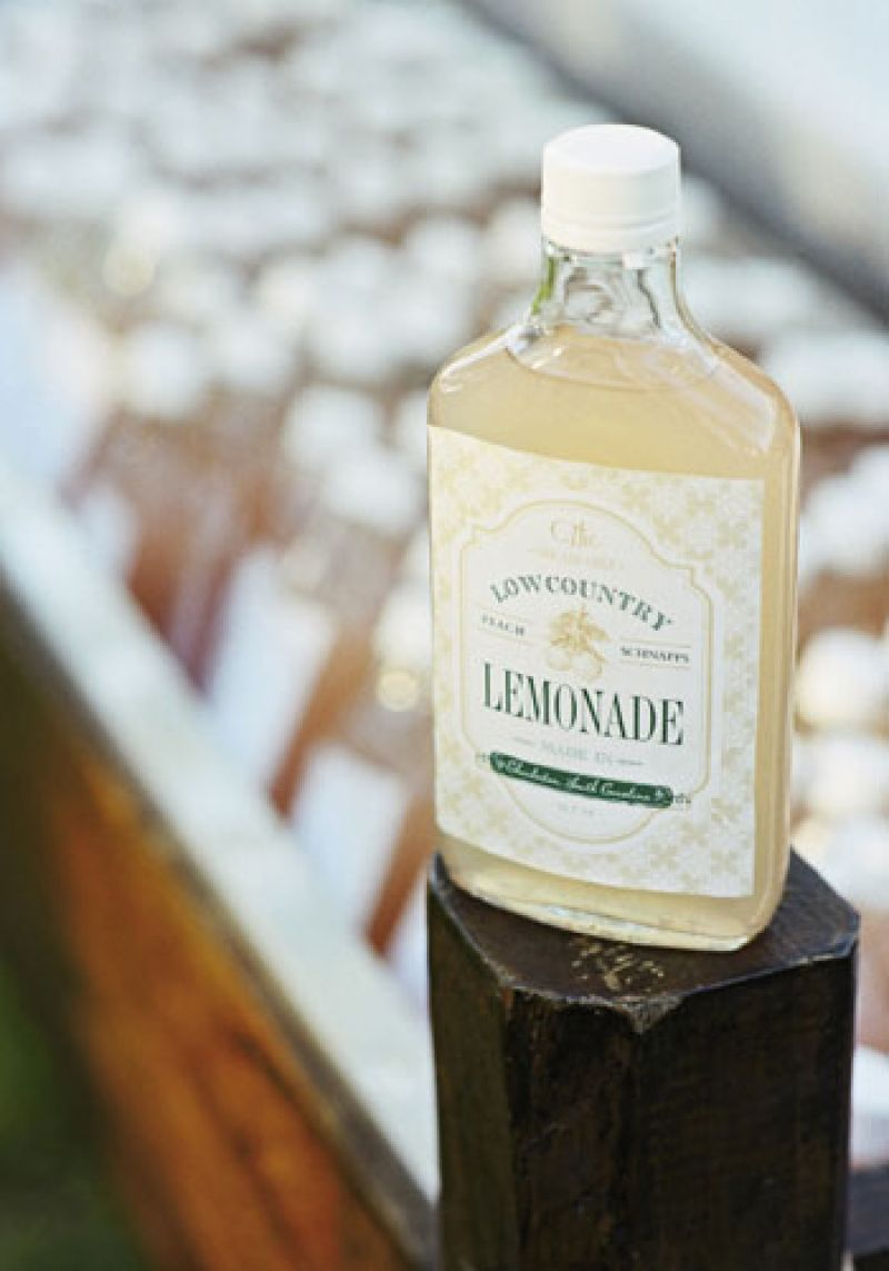 "Southernsip: ""Our signature recipe for Lowcountry Lemonade is a combination of fresh lemonade and peach schnapps,"" says Tara. ""Pour it over a glass full of crushed ice, garnish with mint, and enjoy!"""