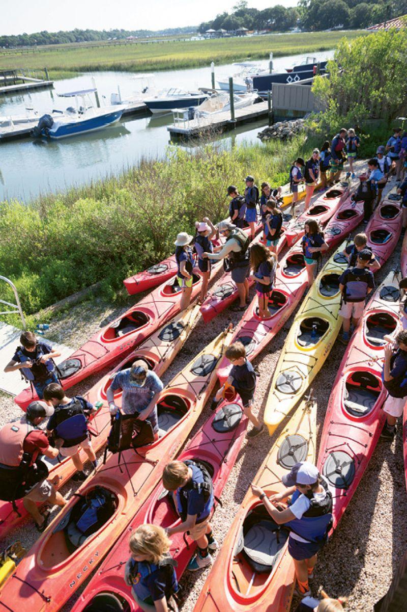 Kayak rentals at the ready