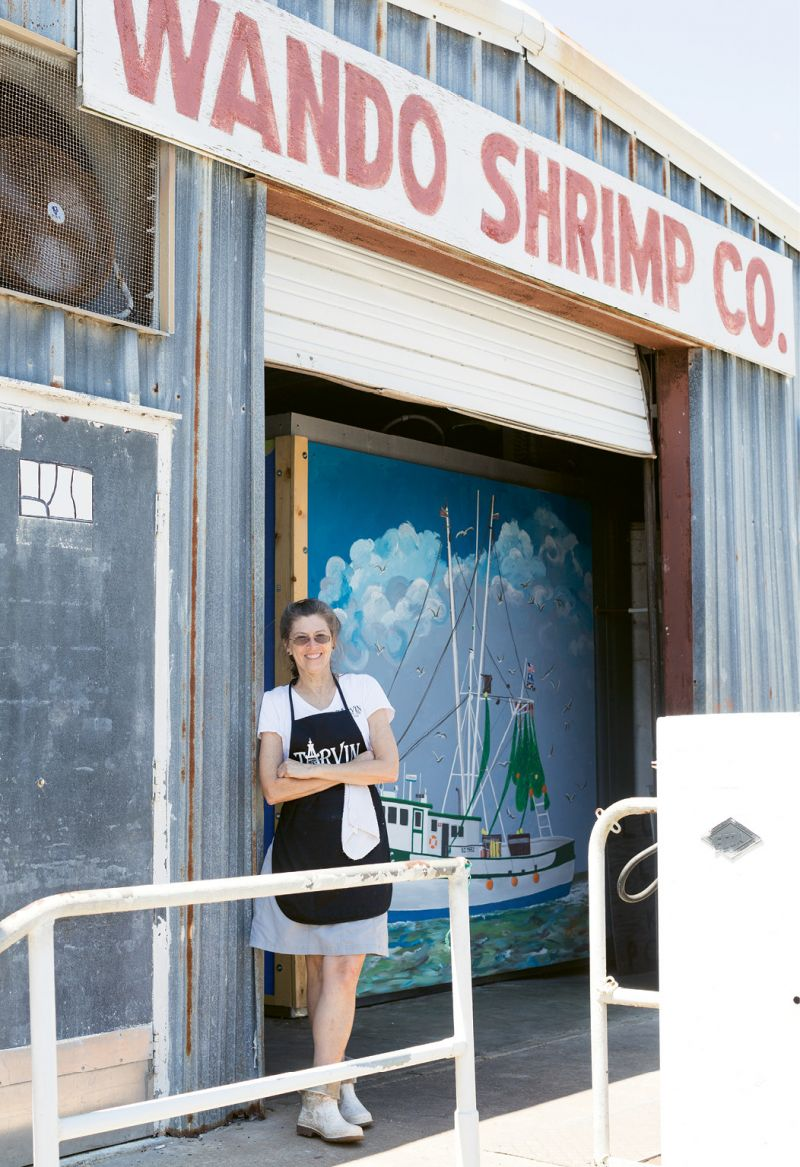 Cindy Tarvin opened Tarvin Seafood at Wando Dock with her family this spring.