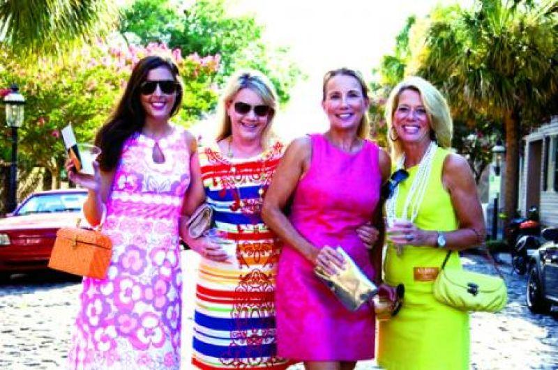 Corinn Griesedieck, Kelly George, Barbra Griesedieck and Ellie Proctor