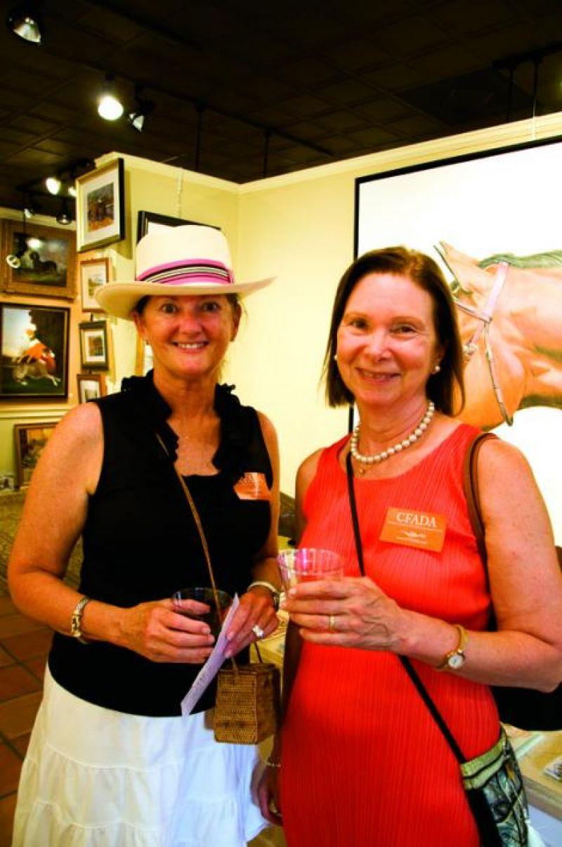 Marilyn Colen and Francine Christiansen
