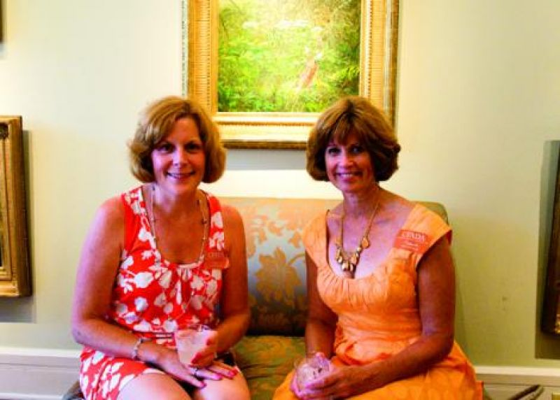 Nancy McCarthy and Joyce Rioux