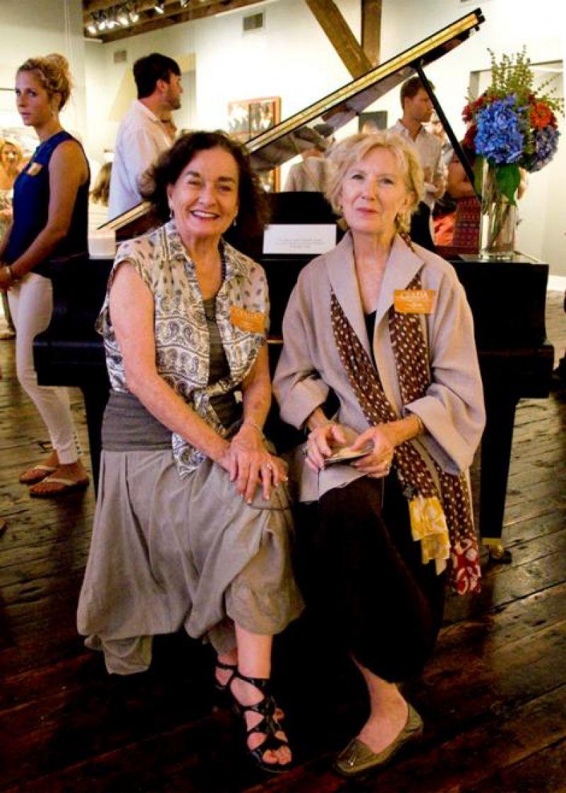 Linda O'Quinn and Peggy Ricker