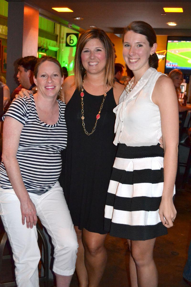 Betsy Crane, Amanda Slade, and Catherine Kolacs