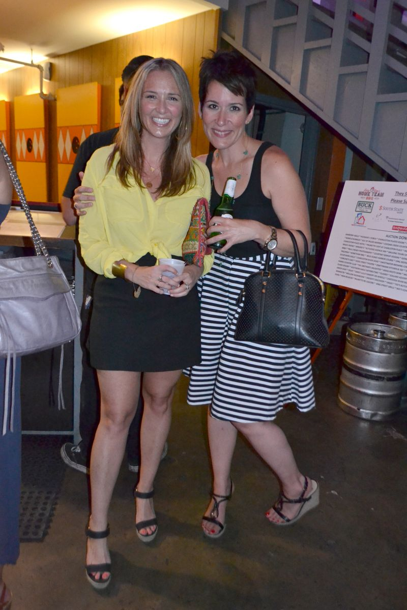 Rebecca Hawkins and Marina Storey