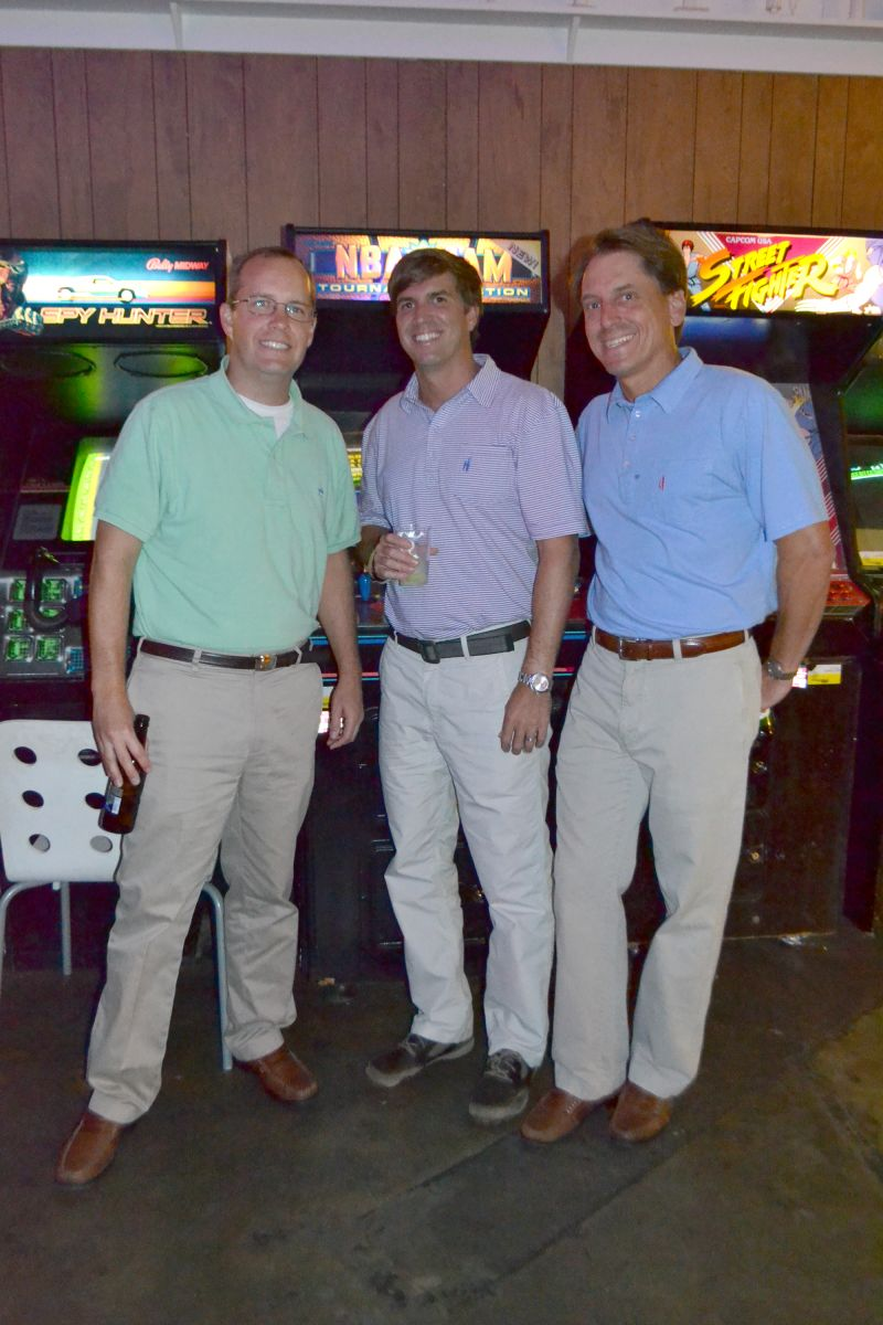 Robert Morgan, Zach Bearden, and Ross Campbell